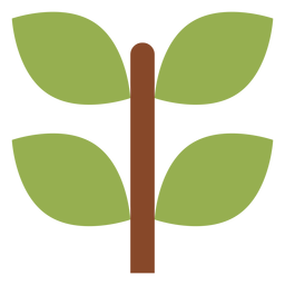 Ícone de ramo de planta