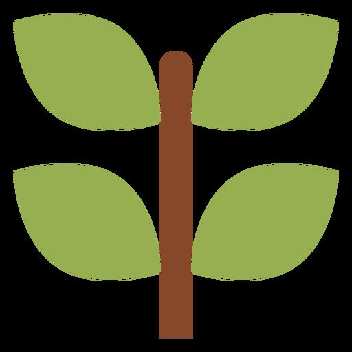 Icono de la rama de la planta Transparent PNG