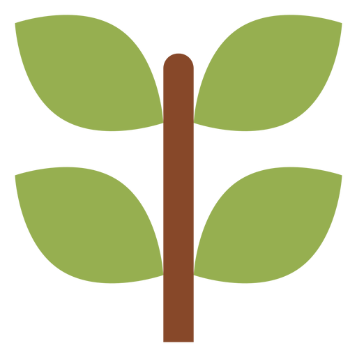 Plant branch icon Transparent PNG