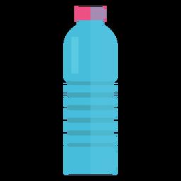 Garrafa de plástico de ícone de água