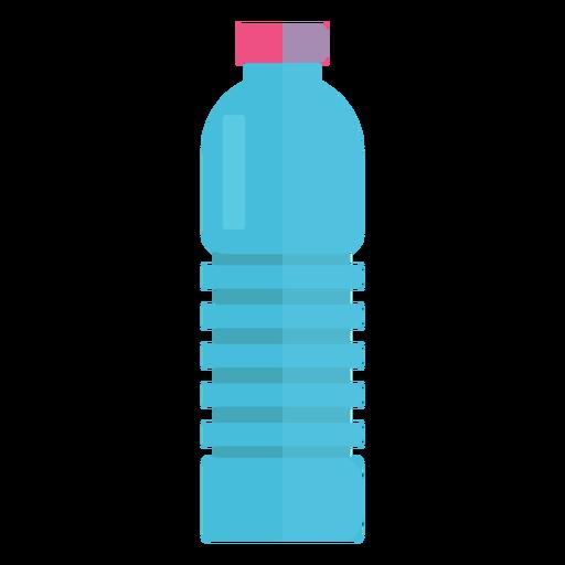 Icono de botella plástica de agua Transparent PNG