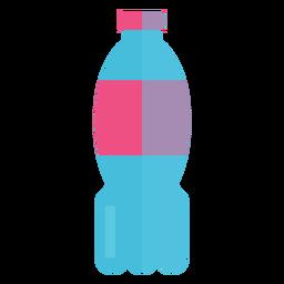 Icono de botella de agua de plástico