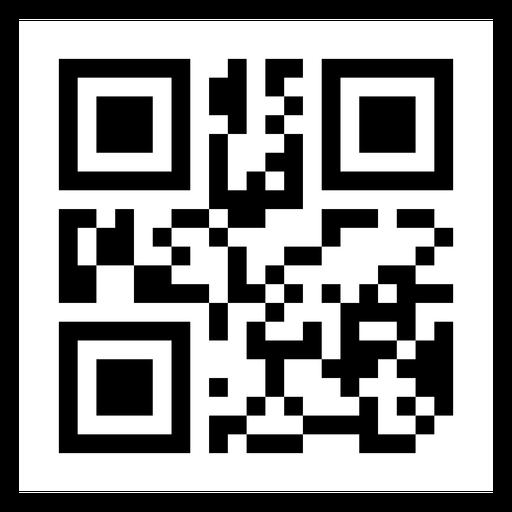 Etiqueta de código QR Transparent PNG