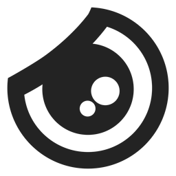 Ojo de emoticon kawaii de rabia