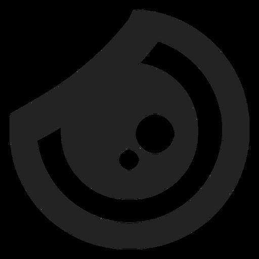Rage kawaii emoticon eye Transparent PNG