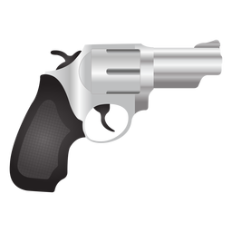 Icono detallado revólver