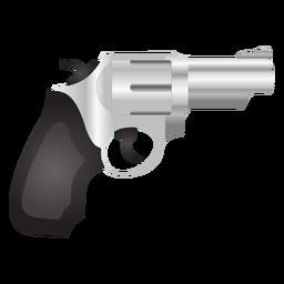 Revólver detalhado ícone