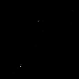 Icono de pelo de cepillo de pelo redondo icono de pelo
