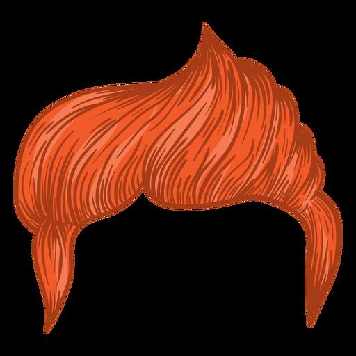 Lado parte homens cabelo ilustração Transparent PNG