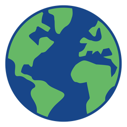 Simple earth icon