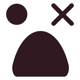 Ícone de rosto simples emoticon