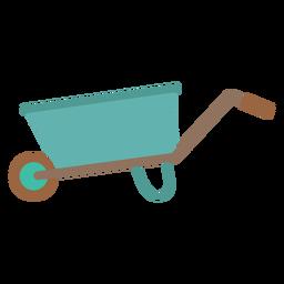 Icono de carretilla simple