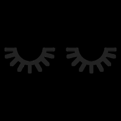 Schläfriger Emoticon schloss die Augen Transparent PNG