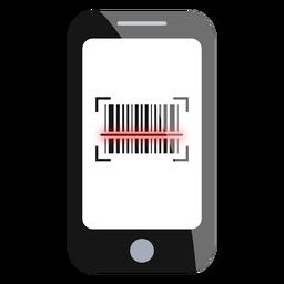 Digitalização de código de barras do smartphone