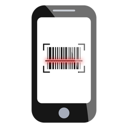Smartphone barcode scan