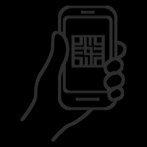 Lector de código qr teléfono inteligente Transparent PNG