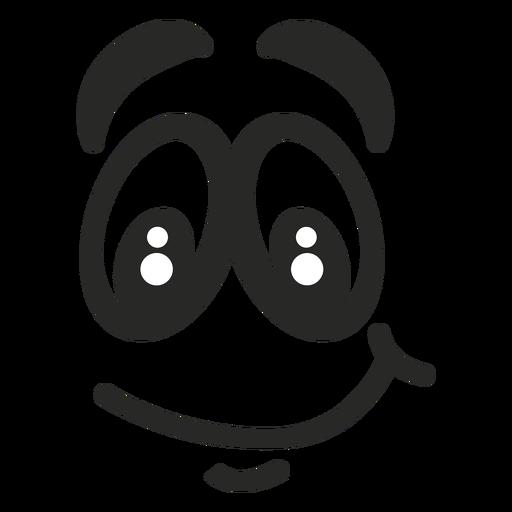 Cara de emoticon de sorriso Transparent PNG