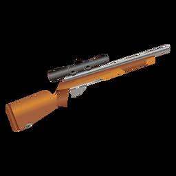 Icono de rifle de francotirador