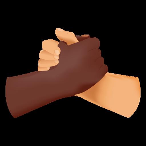 Icono de apretón de manos del hermano del alma Transparent PNG