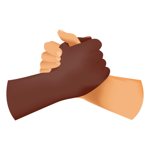 Soul brother handshake icon Transparent PNG