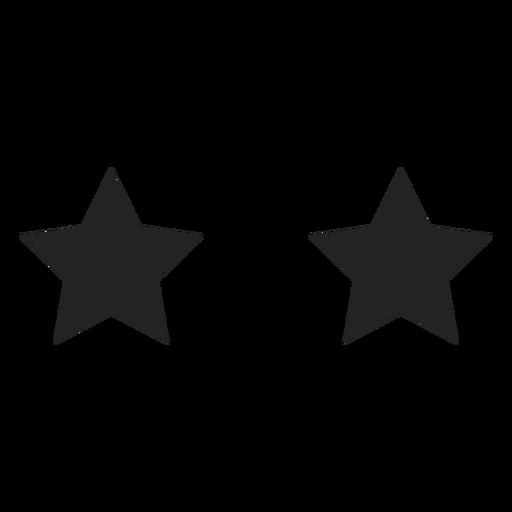 Emoticon especial ojos de estrella. Transparent PNG