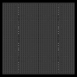Diseño de cuadrícula cuadrada