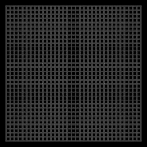 Square grid design Transparent PNG