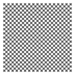 Squares and diagonals grid