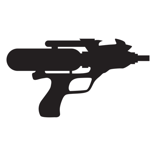 Silhueta de pistola de esguicho Transparent PNG