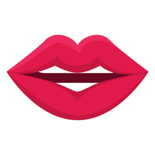 Talking female mouth icon Transparent PNG