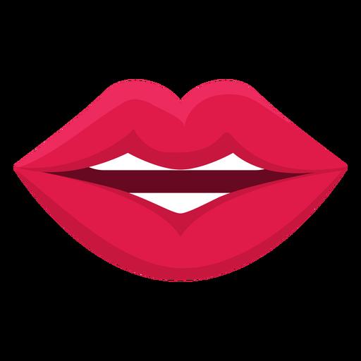 Weibliche Mund Symbol sprechen Transparent PNG