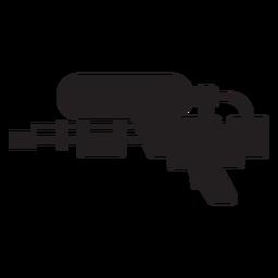 Water blaster silhouette