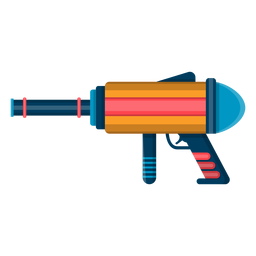 Water blaster toy icon
