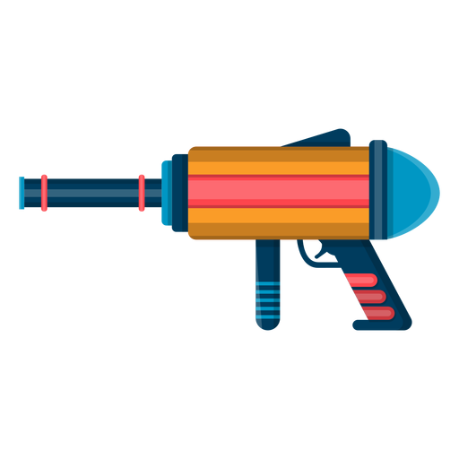 Water blaster toy icon Transparent PNG