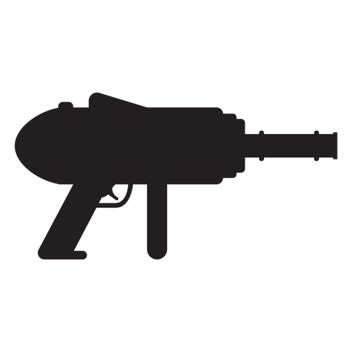 Water blaster toy silhouette Transparent PNG