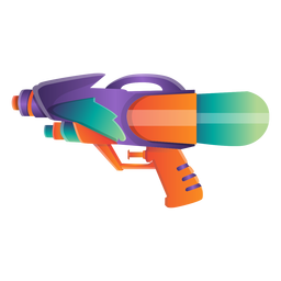 Wasserpistole-Symbol