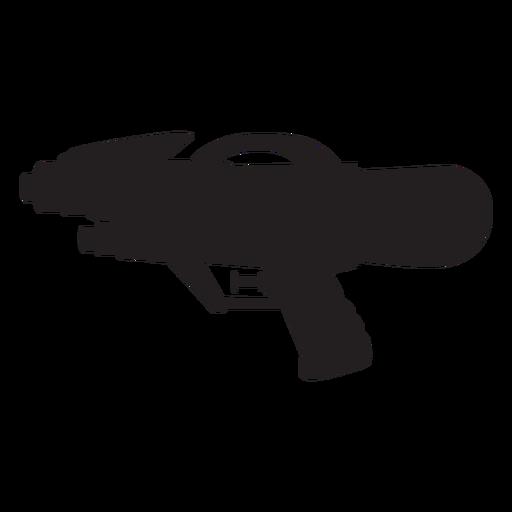 Silueta de pistola de agua Transparent PNG