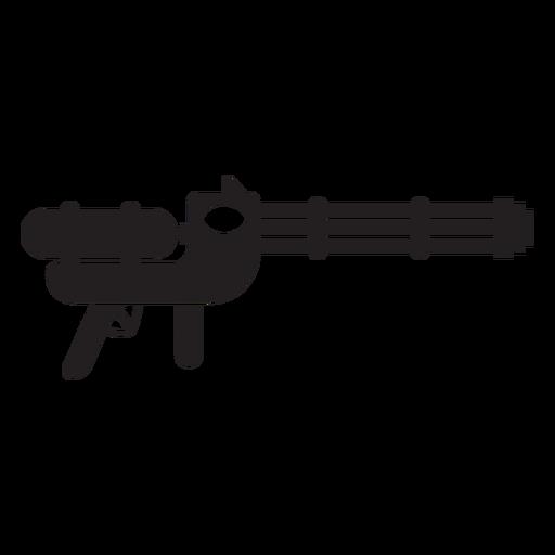 Wasserpistole Spielzeug flach Symbol Transparent PNG