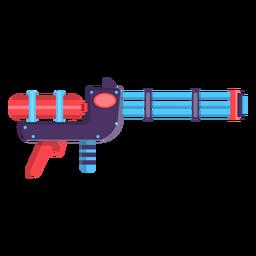Wasserpistole Spielzeug Symbol