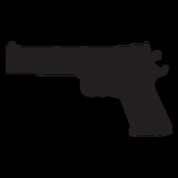 Icono de pistola de agua plana