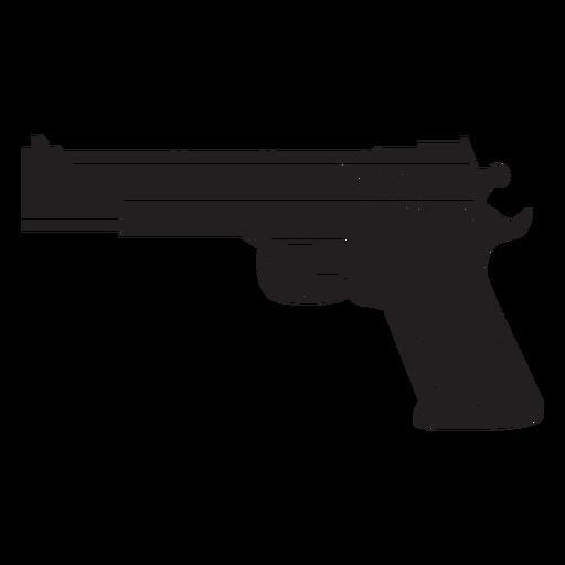 Ícone plana de pistola de água Transparent PNG