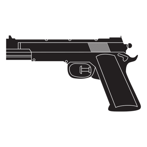 Water pistol flat icon Transparent PNG