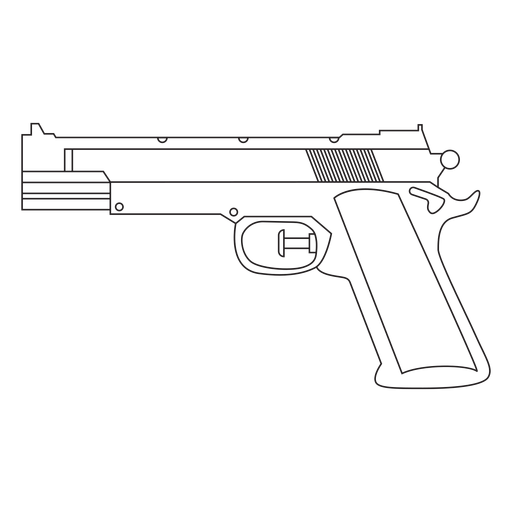 Water pistol stroke icon Transparent PNG