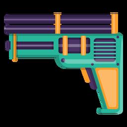 Icono de juguete pistola de agua