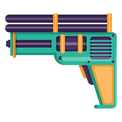 Water pistol toy icon Transparent PNG