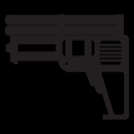 Wasserpistole Spielzeug Silhouette Transparent PNG