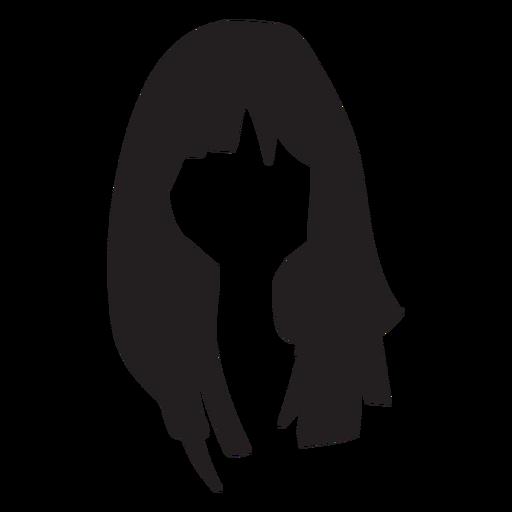 Woman hair flat Transparent PNG