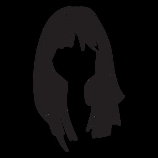 Frau Haar Symbol Transparent PNG