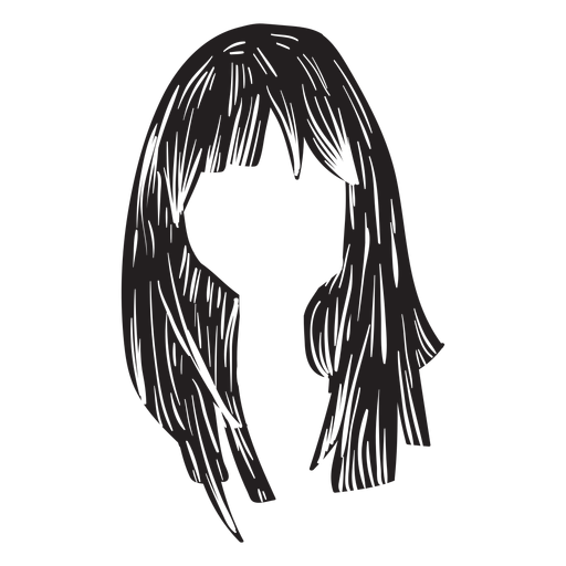 Woman hair icon Transparent PNG