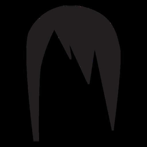 Frau Frisurschattenbild Transparent PNG
